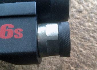 S16 & XVI inlet valve dust cap